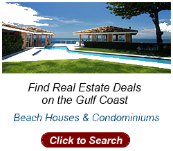 Real Estate on the U.S. Gulf Coast, Beach Houses, Condos