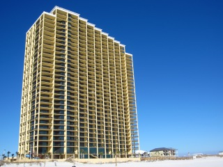 Phoenix West II Condos Beach Side View