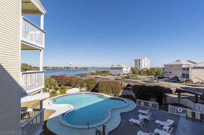 Perdido Key Condos For Sale, Holiday Harbor, Docks on Old River, Sundown